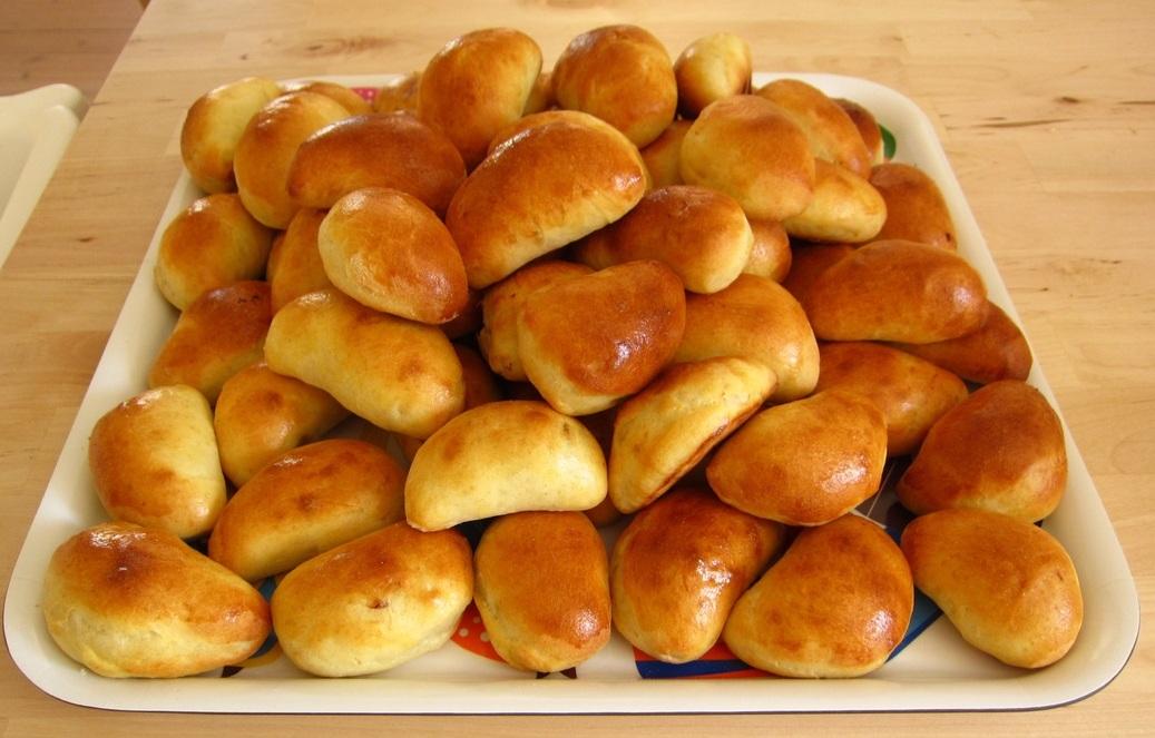 Speķa pīrāgi - pīrādziņi